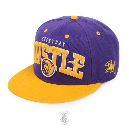 LA Lakers Color. Everyday Hustle Snapback Hat
