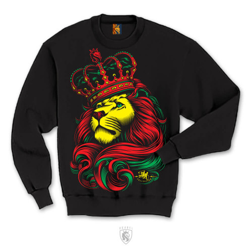 CROWN Rasta CrewNeck