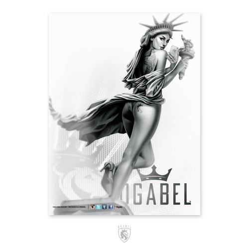 Libertease 18X24 Poster