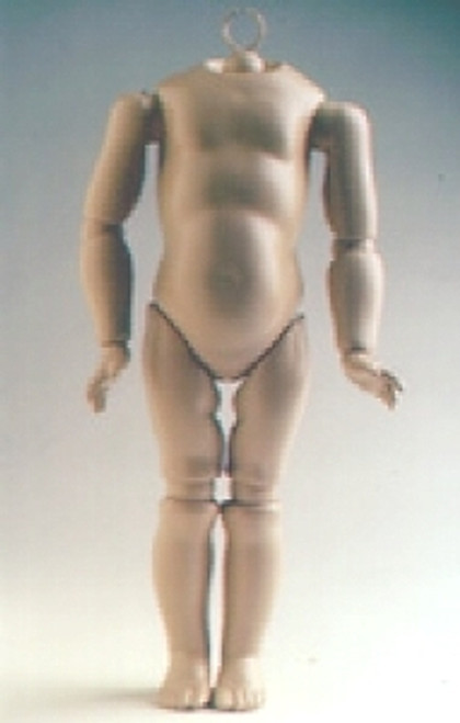 GB12S 11-INCH GERMAN COMPOSITION DOLL BODY