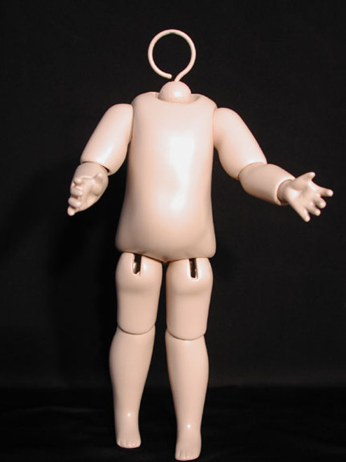 SFBJ775AS 7.75-INCH SFBJ COMPOSITION DOLL BODY WITH JOINTED WRISTS