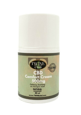 500mg Natural (Unscented) Cream 50ml