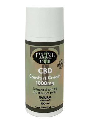 1000mg Natural (Unscented) Cream 100ml