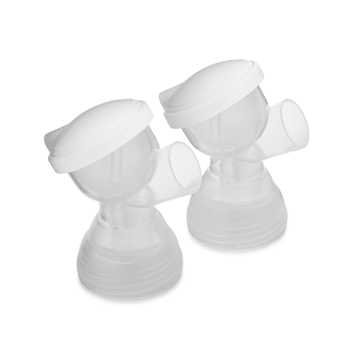 Motif Twist Double Electric Breast Pump with Manual Silicone Breast Pump