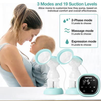 Zomee Z2 Double Electric Breast Pump