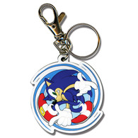 Sonic the Hedgehog: Sonic Spinning PVC Key Chain
