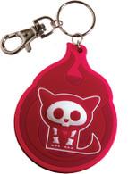 Skelanimals: Cute as Hell Kit the Cat Vinyl Key Chain