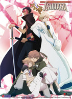 Tsubasa: Foursome Anime Wall Scroll