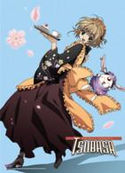 Tsubasa: Sakura and White Mokona (Soel) Anime Wall Scroll