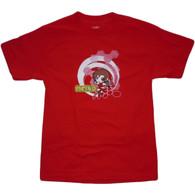 Vocaloid: Chibi Meiko Men's Red T-Shirt
