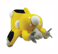 """Ghost in the Shell Stand Alone Complex: Tachikoma Yellow Plush - 5"""" H"""