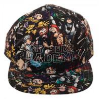 My Hero Academia High Density Print Sublimated Snapback Cap Hat