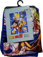 Dragon Ball Z: Goku Three Forms with Dragon Balls Sublimation Throw Blanket