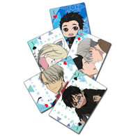 Yuri On Ice Anime Playing Cards