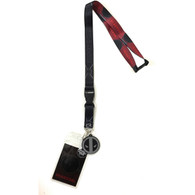 Marvel Deadpool Merc with a Mouth Lanyard with ID Badge Holder & Charm