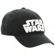 Star Wars Logo Black Adjustable Cap