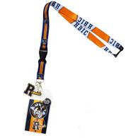 Riverdale HBIC Lanyard with ID Badge Holder & PVC Charm