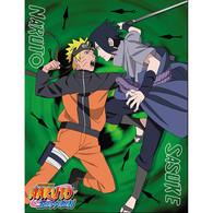 Naruto Shippuden: Naruto vs Sasuke Sublimation Throw Blanket