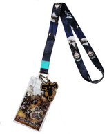 Black Clover: Asta Lanyard with ID Badge Holder & PVC Black Bull Charm