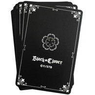 Black Clover Anime Group Playing Cards