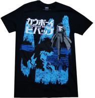 Cowboy Bebop: Spike Men's Black T-Shirt
