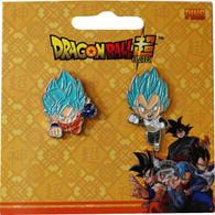 Dragon Ball Super: SSGSS Goku & SSGSS Vegeta Pins Set of 2