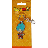 Dragon Ball Super: SD SSGSS Goku Metal Keychain