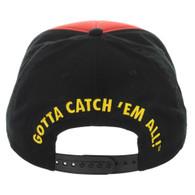 Pokemon Pokeball with Pikachu Youth Snapback Cap Hat