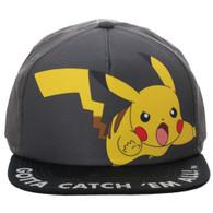 Pokemon Pikachu Gotta Catch 'Em All! Youth Snapback Cap Hat