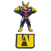 My Hero Academia: All Might & U.A. High School Logo Pins Set of 2