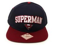 Superman: Man of Steel Adjustable Snapback Cap Hat