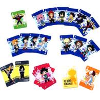 My Hero Academia SD Chibi Group Hero Costume Playing Cards