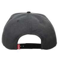 Marvel Carbon Fiber Logo Snapback Cap Hat