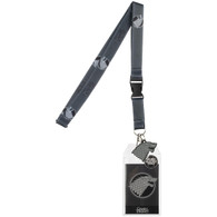 Game of Thrones House Stark King in the North Lanyard with ID Badge Holder & Charm