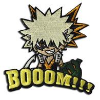 My Hero Academia: Katsuki Bakugo BOOM!!! Patch