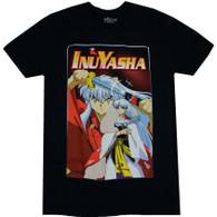 InuYasha: InuYasha & Sesshomaru Brothers Men's Black T-Shirt