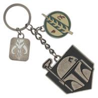 Star Wars Boba Fett Mandalorian Multi-Charm Keychain