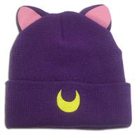 Sailor Moon: Luna Cat Ear Fold Beanie Hat