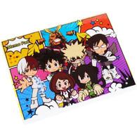 My Hero Academia SD Group Hero Suit Version Memo Pad
