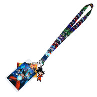 Dragon Ball Super: Battle of Gods Group Lanyard w/ ID Badge Holder & Goku Charm