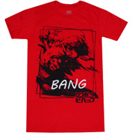 Cowboy Bebop: Spike Bang Men's Red T-Shirt