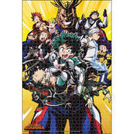 My Hero Academia: Class 1-A Heroes Group Puzzle - 1000 Pieces