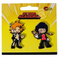 My Hero Academia: Chargebolt & Earphone Jack Pins Set of 2