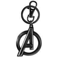 Marvel Black Widow Avengers Logo Pewter Key Ring Keychain