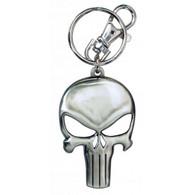 Marvel The Punisher Skull Logo Pewter Key Ring Keychain