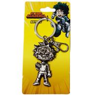 My Hero Academia: Izuku Midoriya Deku Figure Pewter Key Ring Keychain
