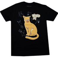 Fruits Basket: Kyo Cat Men's Black T-Shirt