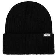 Star Wars The Mandalorian Bounty Hunter Patch Cuffed Beanie Hat