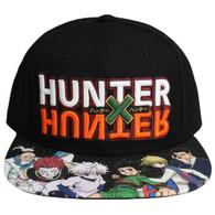 Hunter x Hunter Logo Flat Bill Snapback Cap Hat
