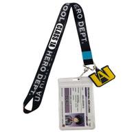 My Hero Academia UA High School Class 1A Hero Dept. Lanyard with ID Badge Holder & Charm